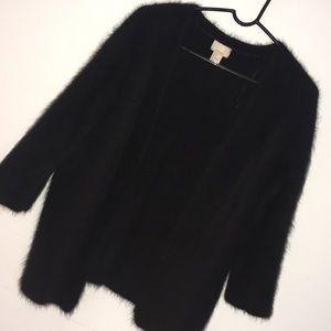 Women's HM Angora rabbit wool hair size 6 jacket
